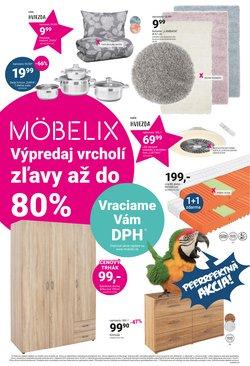 Dom a Záhrada akcie v katalógu Möbelix ( 3 dní zostáva)