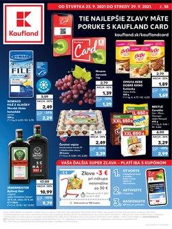 Kaufland akcie v katalógu Kaufland ( Zverejnené dnes)