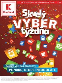 Hyper-Supermarket akcie v katalógu Kaufland ( Uverejnené včera)