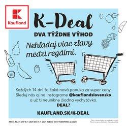 Hyper-Supermarket akcie v katalógu Kaufland v Bratislava ( Pred 2 dňami )