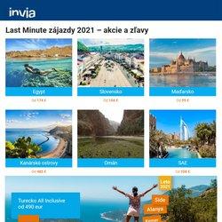 Hry a Voľný Čas akcie v katalógu Invia ( Uverejnené včera)