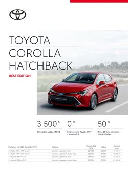 Katalóg Toyota ( Viac ako mesiac)