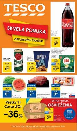 Hyper-Supermarket akcie v katalógu Tesco ( 5 dní zostáva)