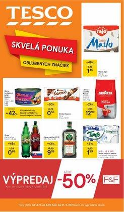 Hyper-Supermarket akcie v katalógu Tesco ( Onedlho vyprší)