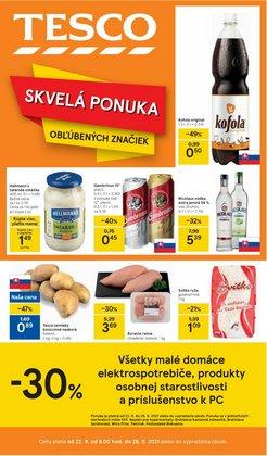 Hyper-Supermarket akcie v katalógu Tesco ( 4 dní zostáva)