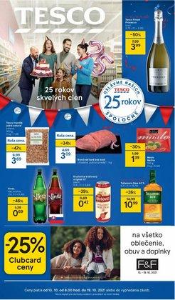 Hyper-Supermarket akcie v katalógu Tesco ( 2 dní zostáva)