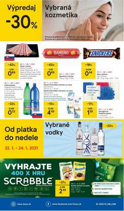 VodaPonuky -Tesco