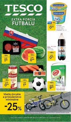 Hyper-Supermarket akcie v katalógu Tesco ( 3 dní zostáva)