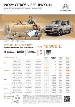 Katalóg Citroën v Banská Bystrica