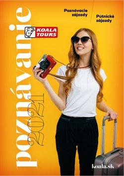 KOALA TOURS akcie v katalógu KOALA TOURS ( Viac ako mesiac)