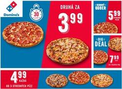 Katalóg Domino's Pizza ( Viac ako mesiac)