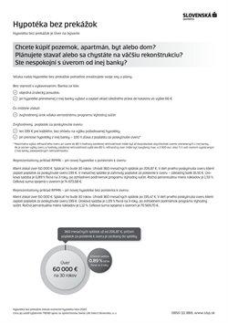 Bánk a Služieb akcie v katalógu Slovenská Sporiteľňa v Banská Bystrica ( Viac ako mesiac )