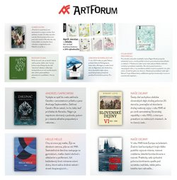 Katalóg Art Forum ( Onedlho vyprší)