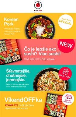 Katalóg Sushi Time ( 23 dní zostáva)