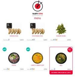 Reštaurácia akcie v katalógu Sushi Time ( 20 dní zostáva )