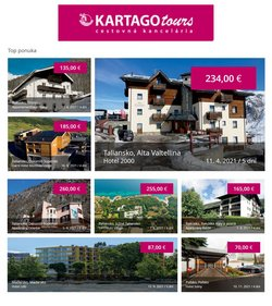 Katalóg Kartago Tours ( 3 dní zostáva)
