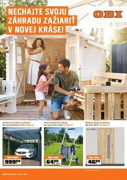 Dom a Záhrada akcie v katalógu OBI ( Zverejnené dnes)
