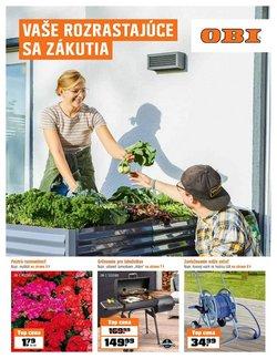 Dom a Záhrada akcie v katalógu OBI v Handlová ( Uverejnené včera )