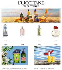 Drogéria a Kozmetika akcie v katalógu L'Occitane ( Uverejnené včera)