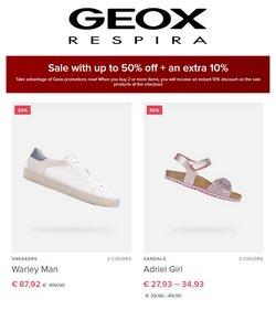 Geox akcie v katalógu Geox ( 4 dní zostáva)