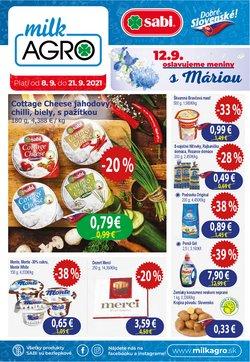 Milk Agro akcie v katalógu Milk Agro ( Onedlho vyprší)