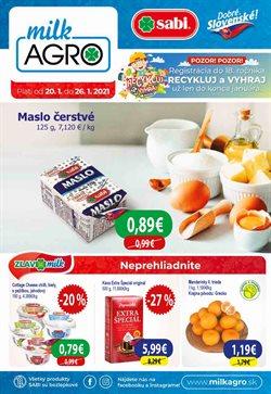 Katalóg Milk Agro ( Onedlho vyprší)