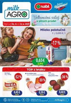 TopPonuky -Milk Agro