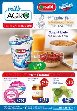 Katalóg Milk Agro ( 3 dní zostáva)