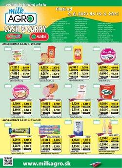 Hyper-Supermarket akcie v katalógu Milk Agro ( Onedlho vyprší)