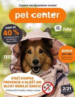 Katalóg Pet Center ( Onedlho vyprší)