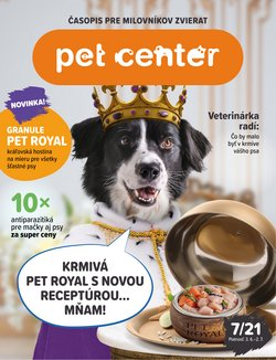 Pet Center akcie v katalógu Pet Center ( 13 dní zostáva)