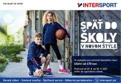 Šport akcie v katalógu Intersport ( 10 dní zostáva)