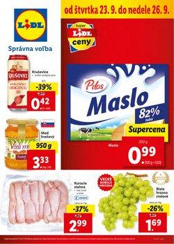 Hyper-Supermarket akcie v katalógu Lidl ( 2 dní zostáva)