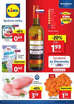 Hyper-Supermarket akcie v katalógu Lidl v Prešov ( Onedlho vyprší )