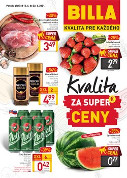 Hyper-Supermarket akcie v katalógu Billa ( 3 dní zostáva)
