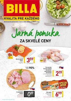 Hyper-Supermarket akcie v katalógu Billa v Prešov ( 7 dní zostáva )
