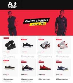 Šport akcie v katalógu A3 Sport ( 2 dní zostáva )
