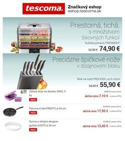Tescoma akcie v katalógu Tescoma ( Zverejnené dnes)