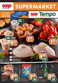 Hyper-Supermarket akcie v katalógu COOP Jednota ( 4 dní zostáva)