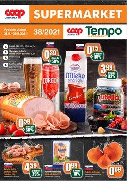 Hyper-Supermarket akcie v katalógu COOP Jednota ( Uverejnené včera)