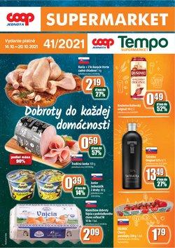 Hyper-Supermarket akcie v katalógu COOP Jednota ( 3 dní zostáva)