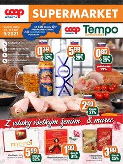 Hyper-Supermarket akcie v katalógu COOP Jednota v Prešov ( 3 dní zostáva )