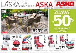 Dom a Záhrada akcie v katalógu Asko Nabytok ( 4 dní zostáva)