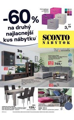 Dom a Záhrada akcie v katalógu Sconto Nábytok ( 2 dní zostáva)