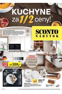 Dom a Záhrada akcie v katalógu Sconto Nábytok ( Zverejnené dnes)