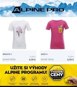 Alpine Pro akcie v katalógu Alpine Pro ( Neplatný)