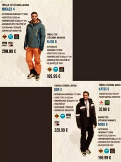 Lyžiarske nohavicePonuky -Alpine Pro