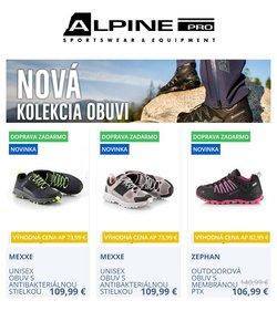 Katalóg Alpine Pro ( Pred 3 dňami)
