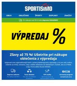 Šport akcie v katalógu Sportisimo ( 4 dní zostáva)
