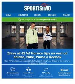 Šport akcie v katalógu Sportisimo ( Uverejnené včera)